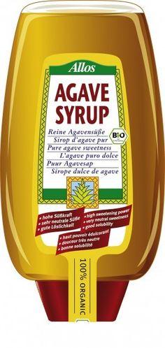 ALLOS bio syrop słodzący AGAWA 500ml ekosklepkrainazdrowia.pl Agaves, Mustard, Bottle, Food, Sweets, Neutral, Flask, Essen, Mustard Plant