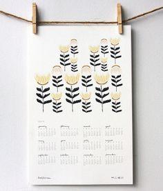 2014 Desert Poppies Wall Calendar