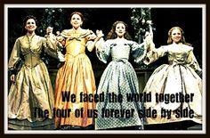 Little Women the Musical - Jenny Powers, Sutton Foster, Megan McGinnis & Amy McAlexander