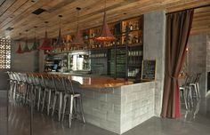 no end to design: Little Water Cantina