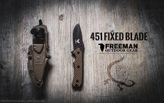 Freeman Outdoor Gear Fixed Blade 451 — A review about a great knive by Project Gecko.