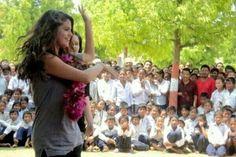 Selena Gomez in Nepal