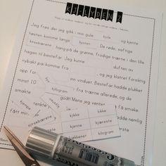 endelig et supermotiverende norskopplegg fra frk Teacher, Personalized Items, Ideas, Professor, Teachers, Thoughts