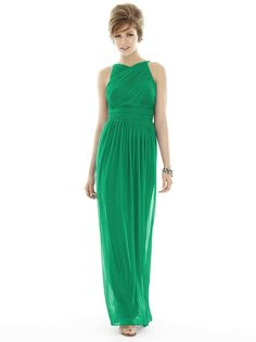Alfred Sung bridesmaid gown at the Bridal Cottage! Bridesmaid Dresses Australia, Alfred Sung Bridesmaid Dresses, Beautiful Bridesmaid Dresses, Bridesmaid Dress Styles, Elegant Dresses, Green Bridesmaids, Bridesmaid Duties, Bridesmaid Ideas, Affordable Dresses