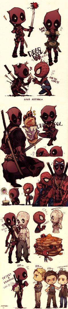 spidey and deadpool | Deadpool/Spidey by ~CircusMayer on deviantART