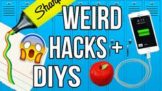 Weird Back To School HACKS & DIYS Tested!