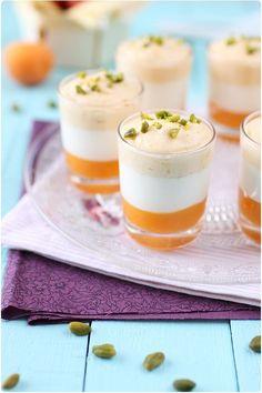 Verrines douceur d'abricots
