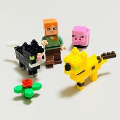 "18 mentions J'aime, 1 commentaires - JOY_PLANET (@joy__planet) sur Instagram: ""#minecraft #legominecraft #legofigure #nanoblock #マインクラフト #レゴ #ナノブロック #100均ブロック"""