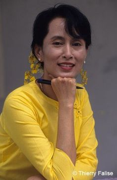 AUNG SAN SUU KYI  was born in 19 June 1945 and is a Burmese opposition politician and chairperson of the National League for Democracy in Burma.  Her father General Aung San fought for Burma's independence against the British.