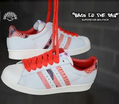 """3a607aa81644 adidas Consortium Superstar 80s """"Back in the Day"""" Pack Sneaker Magazine"""