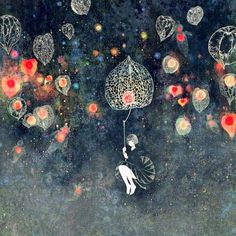 Inspiration - art journaling - Jun Kumaori