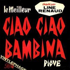 """En suggestiv version af verdenshittet """"Ciao Ciao Bambina"""". Den italienske sang fra 1959 synges af franske Line Renaud"""