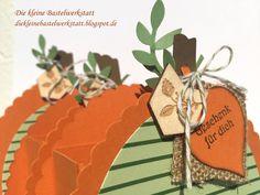 Stampin Up Verpackung Kürbis Herbst Goodies Blätter