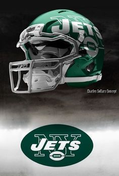 Charles Sollers NFL Concept Helmets - Gallery Nfl Jets 9426f7053