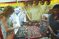 Hippie market... Las dalias