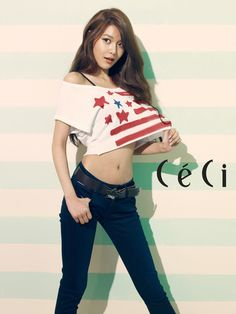 Lee Jong Suk and Girls' Generation's Sooyoung & Seohyun charm for 'White Day' through 'CeCi' Cute Girl Pic, Cute Girls, Hilfiger Denim, Tommy Hilfiger, South Korean Girls, Korean Girl Groups, Daniele Suzuki, Yuri, Sooyoung Snsd