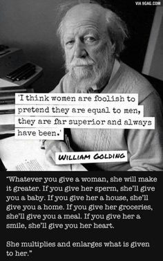 A woman - William Golding