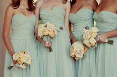 Bridesmaids dresses