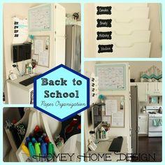 {DIY Back to School Paper Organization!}