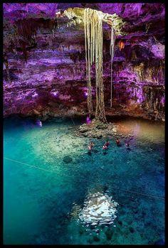 Yucatan Peninsula... beautiful but scary too