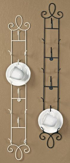 Cup and Saucer Racks and Rails - Augusta Vertical
