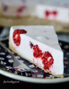 sernik z malinami (cheesecake with raspberries)