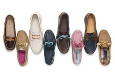 Customize your Sperrys - add new laces, new tying methods, even an extra twist of color!