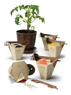 Vive Gardening Kit (Student Project) on Packaging of the World - Creative Package Design Gallery