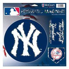 "New York Yankees Magnets - 11""x11 Prismatic Sheet"