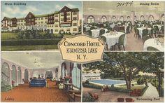 Concord Hotel, Kiamesha Lake, NY