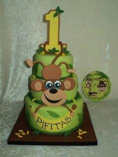 1st birthday cakes for boy | 1st Birthday cakes- boys