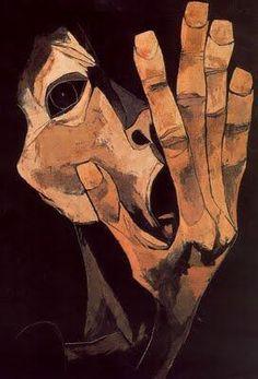 Oswaldo Guayasamin(1919ー1999)「 El Grito」