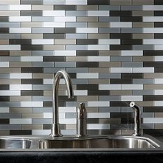 Aspect Peel And Stick Rustic Clay Matted Glass Backsplash Kit For Kitchen And Bathrooms 15 Sq