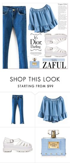 """""""www.zaful.com/?lkid=7011"""" by lucky-1990 ❤ liked on Polyvore featuring Versace, Elemis and zaful"""