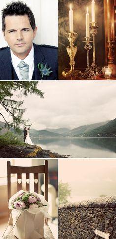 Scottish Wedding via stylemepretty - love this gallery. Encapsulates what I want.