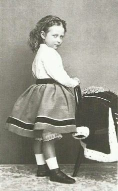Princess Victoria of Hesse (Darmstadt) and By Rhine in 1860.Sister of Empress Alexandra Feodorovna of Russia.A♥W