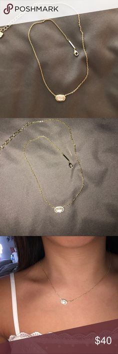 Kendra Scott necklace NWT. Very delicate, yet small necklace Kendra Scott Jewelry Necklaces