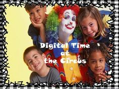 Price $4.00 The acrobat, the juggler, the lions, the elephants, the carousel Its learning Digital Time at the Circus in the world of entertainment. See what time it is and tell what activity the people or animals are doing. Students can write, say, and show the time in a spectator atmosphere.
