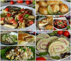 RICETTE ESTIVE SALATE tante gustose ricette tutte facili e veloci da preparare in estate, primi freddi, focacce in padella e pasticci di verdure senza forno Baked Potato, Nutella, Cabbage, Potatoes, Baking, Vegetables, Health, Ethnic Recipes, Estate