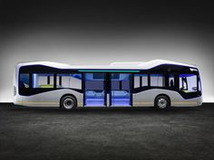 Mercedes didn't have to start from scratch with the Future Bus. The company is a pioneer in autonomous trucks, so the company was able to build upon its Highway Pilot system to create City Pilot, which is the system the bus uses. Mercedes Benz, Mercedes Electric, Mode Of Transport, Public Transport, Bus City, Bus Interior, Interior Design, Luxury Bus, Bus Terminal