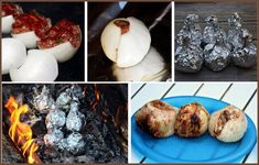 carolynn's recipe box: Onion Meatloaf Balls - this looks good, but I could live without the added ketchup. Camping Desserts, Camping Meals, Meatloaf Recipes, Beef Recipes, Recipies, Foil Potatoes, Recipe Using, Recipe Box, Campfire Food