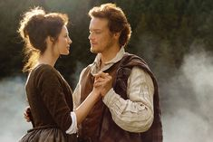 "Outlander Season 1 Pre Production Promo Stills ""Jamie & Claire"""