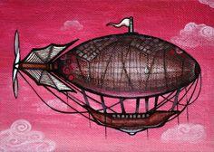 #Airship by Diana Vega-Pugh from Modern Eden Gallery