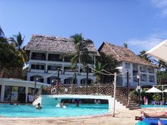 Fun Pool at Voyager Beach, Mombasa