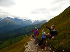 The town of Girdwood, 40 minutes south of Anchorage, is a perfect mix of kid-friendly activities. AKontheGO.com