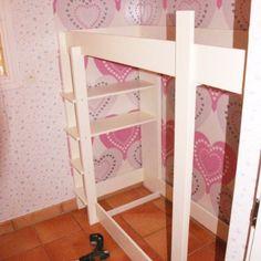 ... (Half)hoogslaper maken on Pinterest  Mezzanine, Met and Loft beds