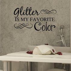 Nail Salon Art, Spa Art, Glitter Is My Favorite Color, Nail Salon Wall Art, Spa Decor, Bathroom Decor, Nail Technician, Bathroom Vanity