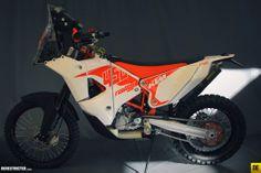 2014 KTM 450 Rally Bike