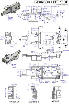 Risultati immagini per detailed assembly drawing Mechanical Engineering Design, Engineering Works, Mechanical Design, Autocad Isometric Drawing, Learn Autocad, Solidworks Tutorial, Blueprint Drawing, Autodesk Inventor, Drawing Machine