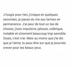 C ce que je suis Pretty Quotes, Love Quotes, Inspirational Quotes, French Words, French Quotes, Simple Sentences, Poems Beautiful, Father Quotes, Wonder Quotes